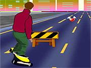 Skateboard First Race