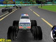 3d Police Monster Trucks