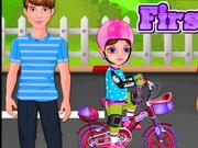 Little Girl First Bike