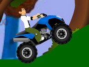 Ben 10 Atv Jungle Rush