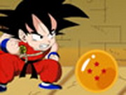 Goku Collects Dragonballs