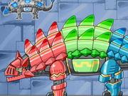 Dino Robot Knight Ankylo